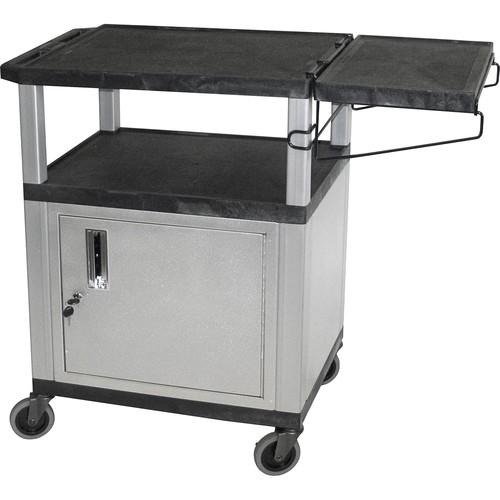 Luxor WT34CCBR Coffee Cart (Black/Nickel) WT34CCBR