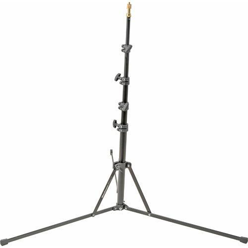 Manfrotto 5001B Nano Black Light Stand - 6.2' (1.9m) 5001B