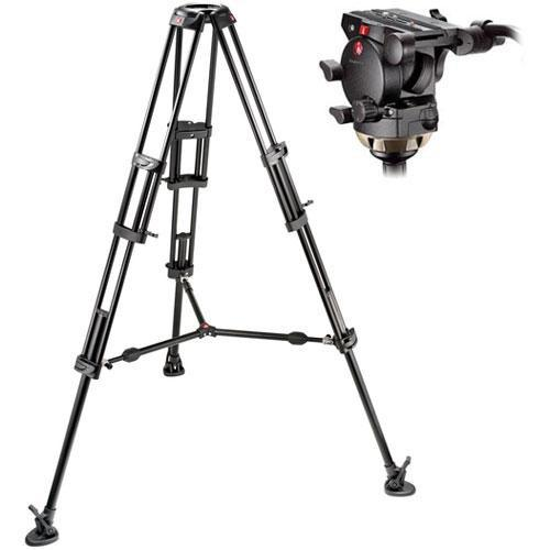 Manfrotto 526,545BK Professional Video Tripod System 526,545BK
