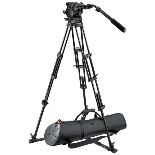 Manfrotto 526,545GBK Professional Video Tripod System 526,545GBK