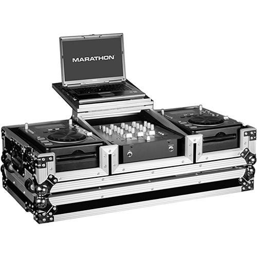 Marathon MA-CDJ10WLT Flight Road Coffin Case MA-CDJ10WLT