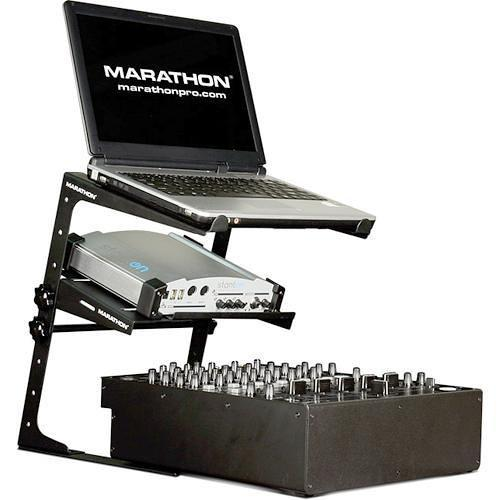 Marathon Universal Laptop Stand with Shelf MA-LTPAK
