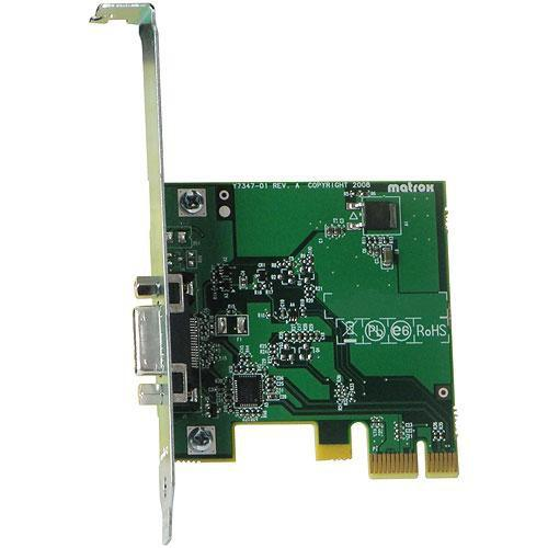 Matrox  MXO2 PCIe Host Adapter PCIE/ADP