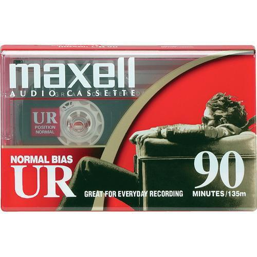 Maxell Normal Bias UR 90-Minute Audio Cassette Tape 108510