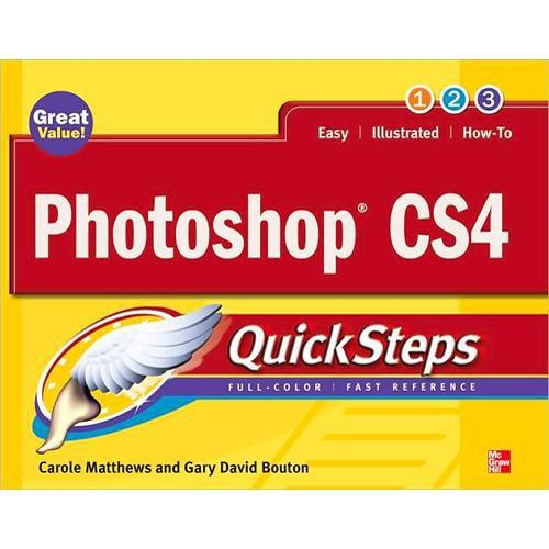 McGraw-Hill Book: Photoshop CS4 Quicksteps by 978-0-07-162537-1