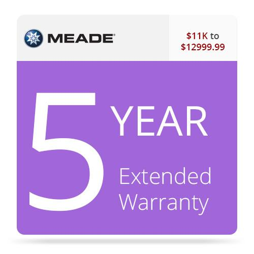 Meade 5-Year Extended Warranty for $11000-12999.99 X512