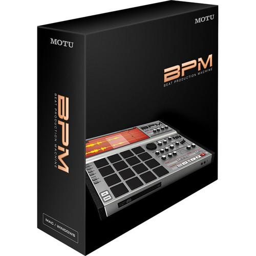MOTU BPM 1.5 - Advanced Urban Rhythm Virtual Instrument 7500