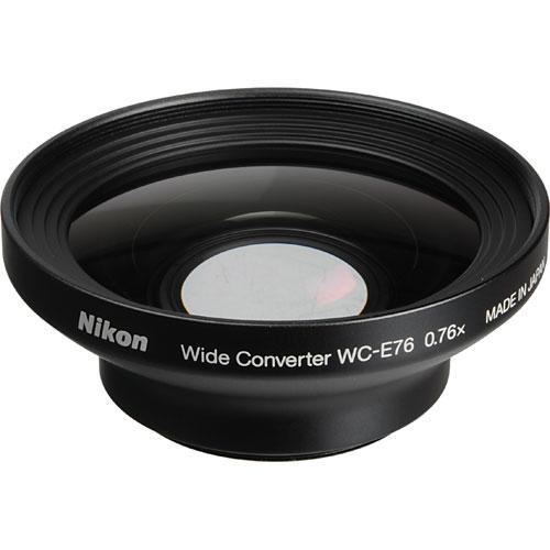 Nikon WC-E76 0.76x Wide-Angle Converter Lens for Nikon 25792