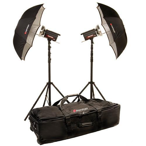 Norman 2 Monolight Travel Kit w/ Built-in PocketWizard 812885