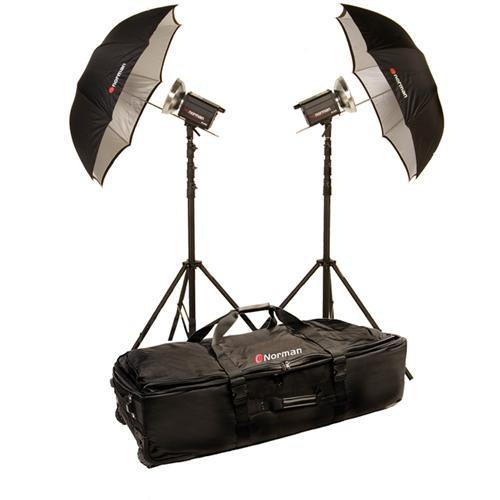 Norman 2 Monolight Umbrella Travel Kit (120VAC) 812873