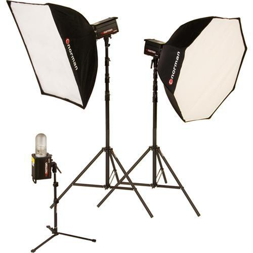 Norman 3 Monolight, Octagon Softbox Kit (120VAC) 812921