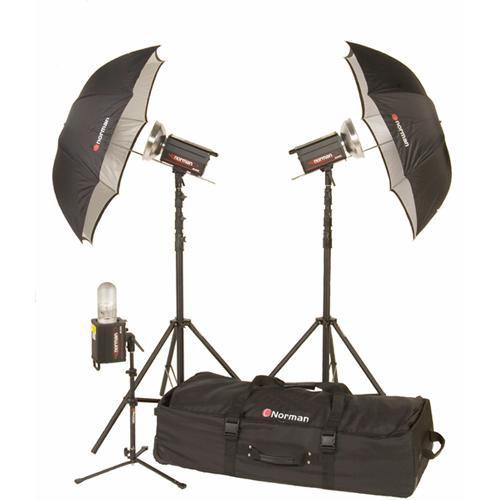 Norman 3 Monolight Travel/Studio Kit (120VAC) 812905