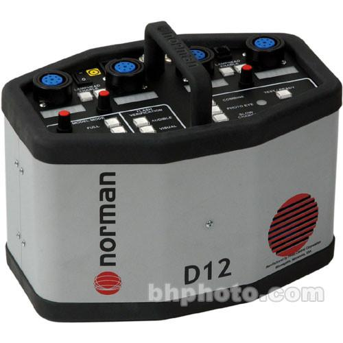 Norman  D12 Power Pack - 1200 Watt/Seconds
