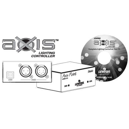 NSI / Leviton Axis Basic Lighting Controller Kit AXKB0000X1D