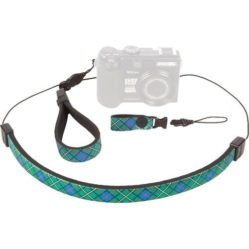 OP/TECH USA Compact Strap Trio (Plaid Pattern) 3400211