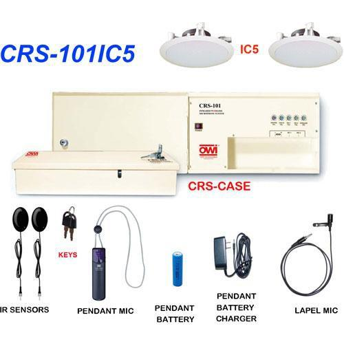 OWI Inc. CRS-101IC5 Infrared Wireless Microphone CRS-101IC5-2