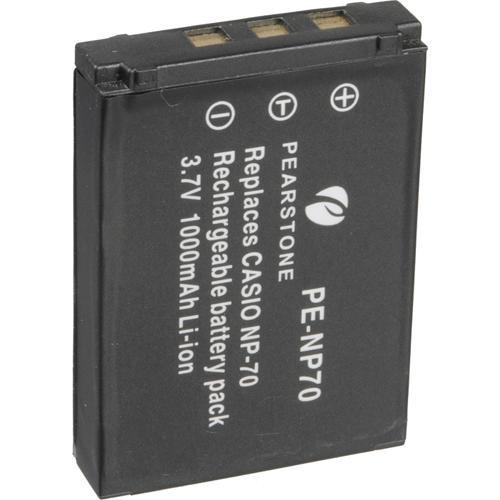 Pearstone NP-70 Lithium-Ion Battery Pack (3.7V, 1000mAh) NP-70C
