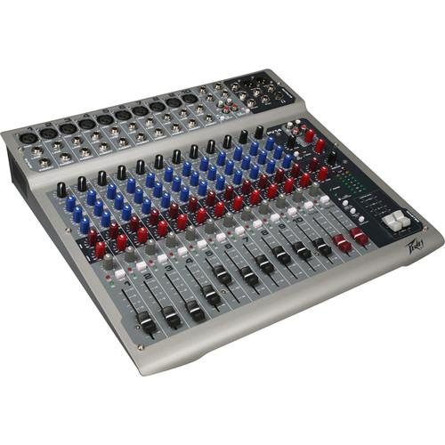 Peavey PV14 Live Sound Mixer with 14 Channels and 00512140