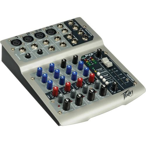 user manual peavey pv6 usb live sound mixer with 6 channels and usb rh pdf manuals com peavey pv6 mixer manual pdf peavey pv6 manual pdf