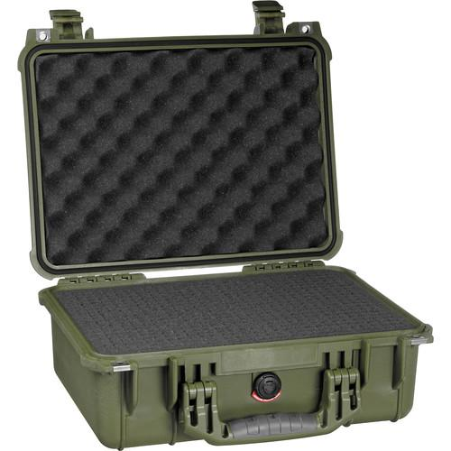 Pelican 1450 Case with Foam (Olive Drab) 1450-000-130