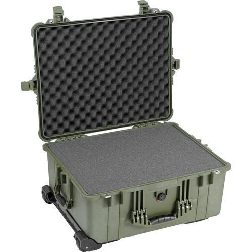 Pelican 1610 Case with Foam (Olive Drab Green) 1610-020-130