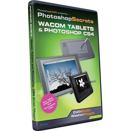 PhotoshopCAFE CD-Rom: Wacom Tablets and Photoshop CS4 by Colin