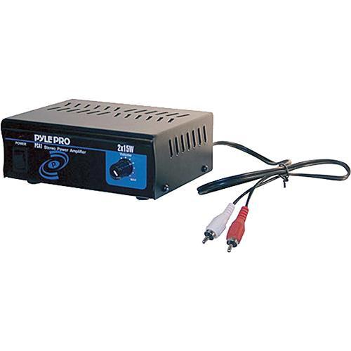 Pyle Pro PCA1 Mini 2 x 15W Stereo Power Amplifier PCA1