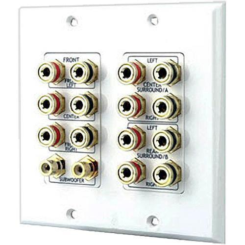 Pyle Pro PHIW71 7.1 Dolby Surround Sound Wallplate PHIW71
