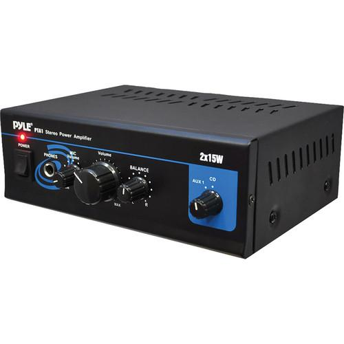 Pyle Pro  PTA1 30W Stereo Power Amplifier PTA1