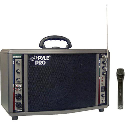 Pyle Pro PWMA3600 200W Portable PA System with Wireless PWMA3600