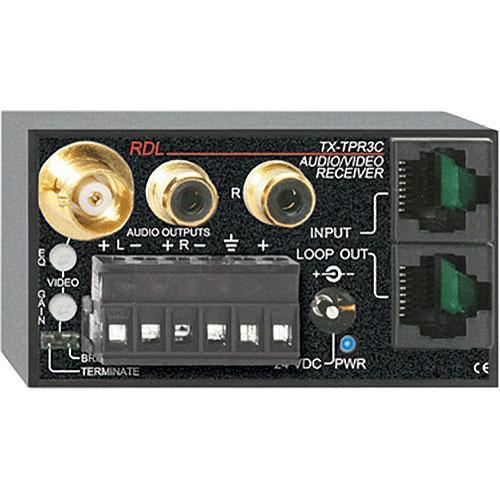 RDL TX-TPR3C Active Three-Pair Receiver - Twisted Pair TX-TPR3C