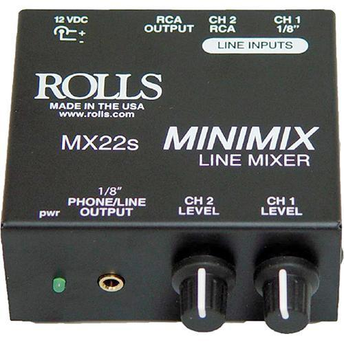 Rolls  MX22s Mini Mix - Line Mixer MX22S
