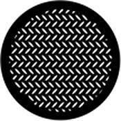 Rosco Standard Steel Gobo #78443B Diamond Grid 250784430860