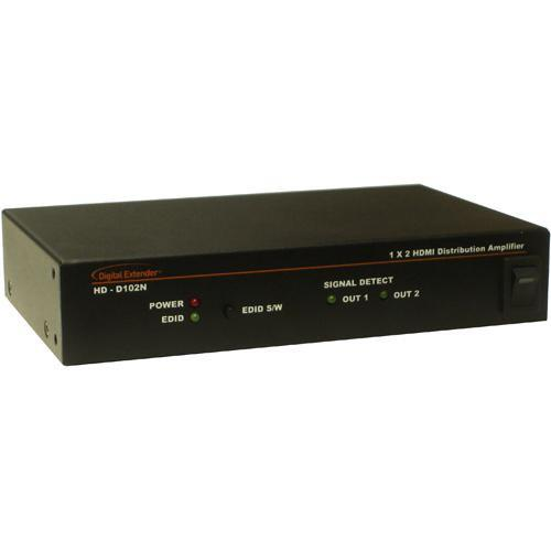 RTcom USA HD-D102 HDMI Distributor 1x2 v1.3 HD-D102