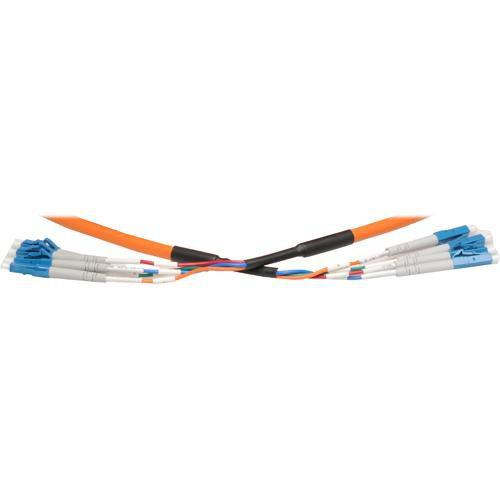 RTcom USA Pre-Terminated LC Multi-Mode Fiber-Optic Cable OLC-600