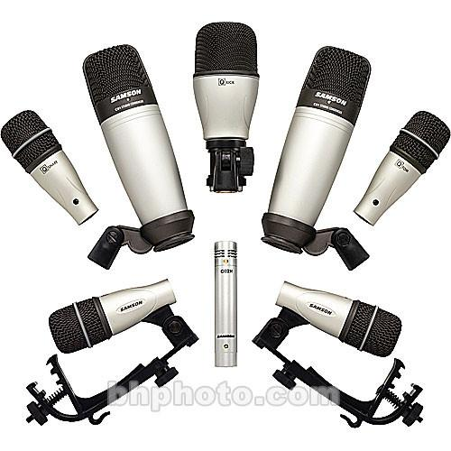 Samson  8-Piece Drum Microphone Kit SADK8