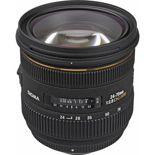 Sigma 24-70mm f/2.8 IF EX DG HSM Autofocus Lens for Nikon 571306