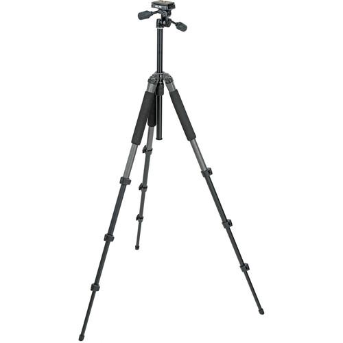 Slik Sprint Pro II 4-Section Tripod w/ 3-Way Panhead 611-865