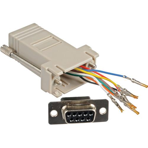 Smart-AVI DB9F-RJ45F RS-232 RJ-45 Adapter DB9F-RJ45F