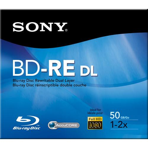 Sony BNE-50RH BD-RE 50GB Blu-ray Recordable Disc BNE50RH/US