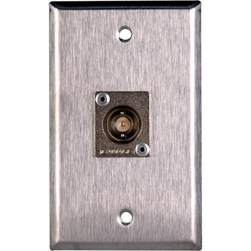 TecNec WPL-1103 Stainless Steel 1-Gang Wall Plate WPL-1103