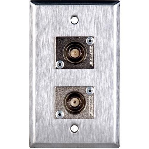 TecNec WPL-1104 Stainless Steel 1-Gang Wall Plate WPL-1104