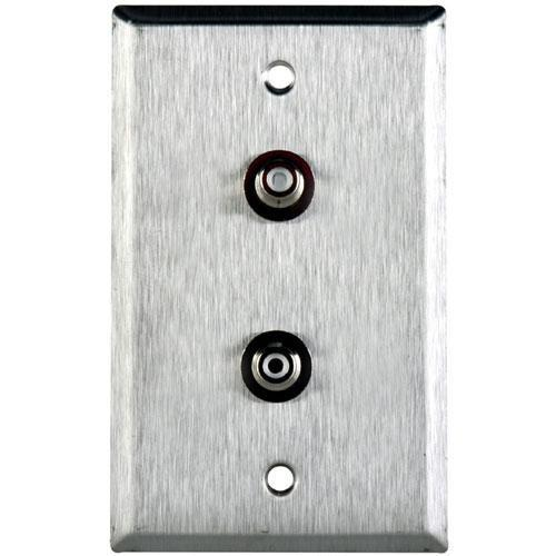 TecNec WPL-1106S Stainless Steel 1-Gang Wall Plate WPL-1106/S