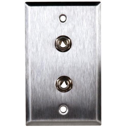 TecNec WPL-1110 Stainless Steel 1-Gang Wall Plate WPL-1110