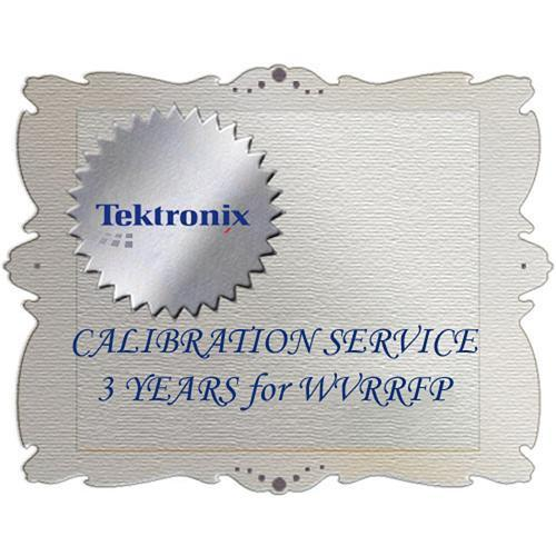 Tektronix C3 Calibration Service for WVRRFP WVRRFP C3
