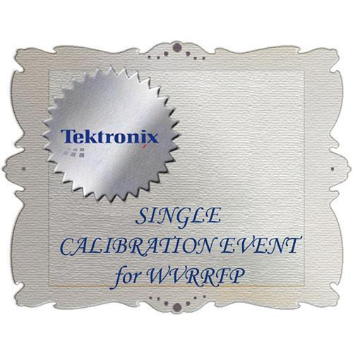 Tektronix CA1 Calibration Service for WVRRFP WVRRFP-CA1