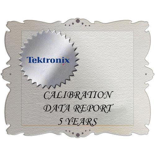 Tektronix D5 Calibration Data Report for SPG600 SPG600 D5
