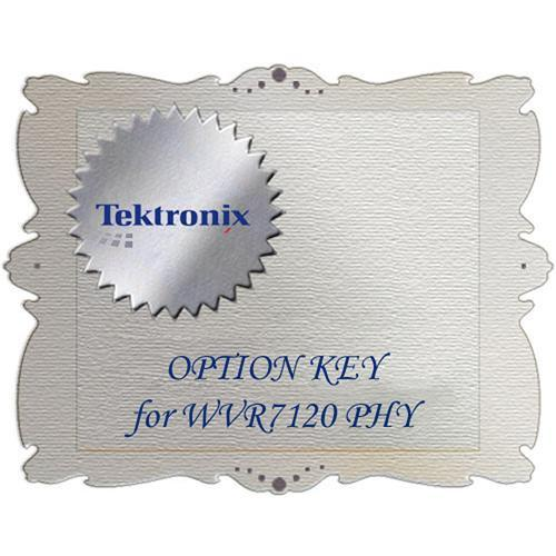 Tektronix  PHY Option for WVRX20VS WVRX20VS PHY