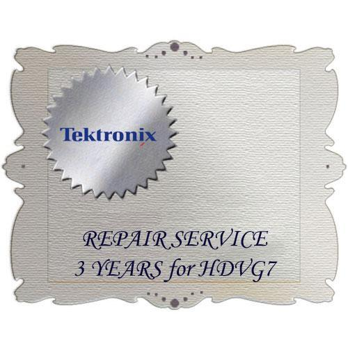 Tektronix R3 Product Warranty and Repair Coverage HDVG7 R3