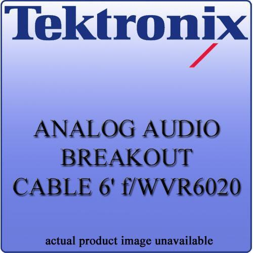 Tektronix WVR602062 Analog Audio Breakout Cable WVR602062